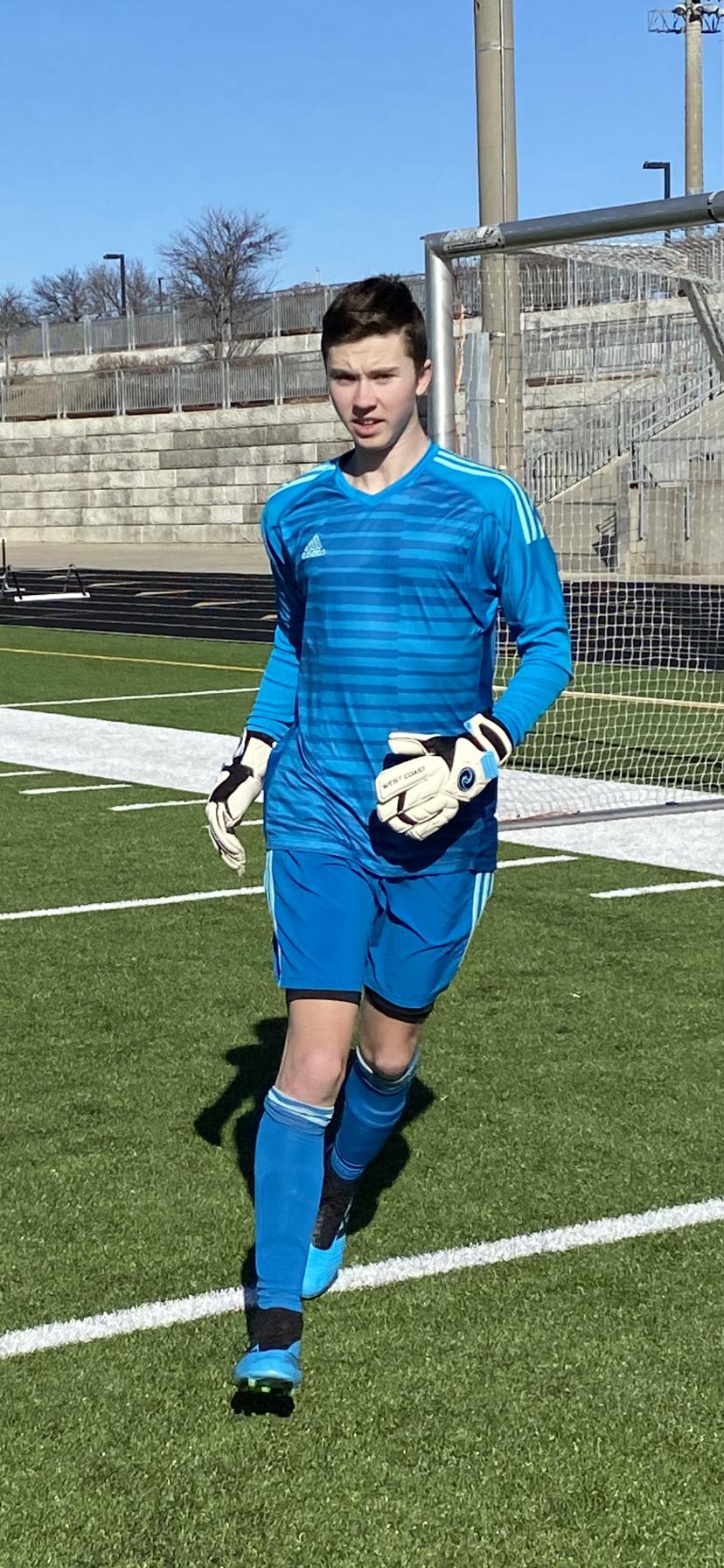Jimmy Poledna - Goalkeeper Training in Kansas City