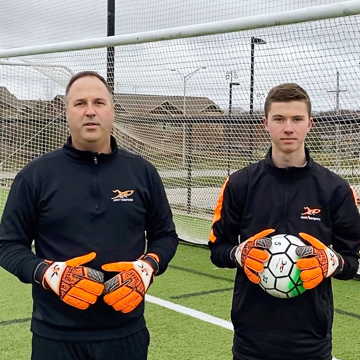 Mike & Jimmy Poledna - Goalkeeper Training in Kansas City